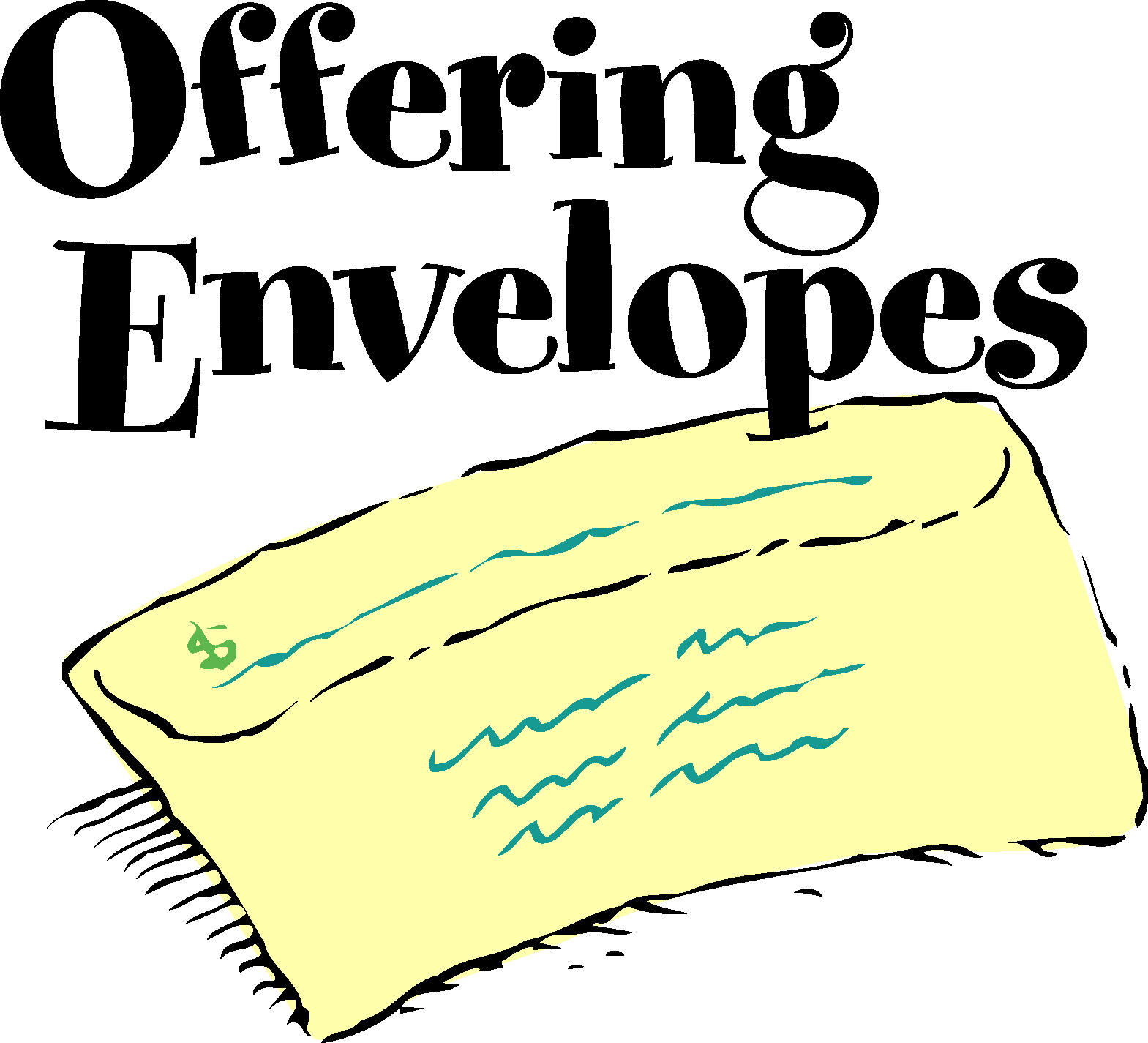 Offering Envelopes Clipart