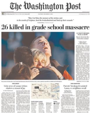 sandy hook elementary paper Two-years after stating its intention to exit investments in gun manufacturers following a massacre at the sandy hook elementary  at forbes, where i.